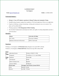 Ms Word Resume Template Classy Resumes Download Ms Word Format Inspiration Resume Format Word