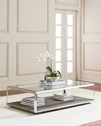 reen shadow box coffee table