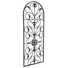 This piece is just the thing to put your home décor game on the next level. Large Tuscan Wrought Iron Metal Wall Decor Rustic Antique Garden Indoor Outdoor Ebay