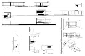 Tugendhat House Plan Dwg Liveideas Co. House Plan Farnsworthr Dimensions  Site Dwg Interior Farnsworth
