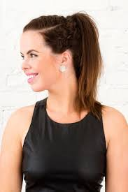 Practical Hairstyles For Moms 12 Ways To Style Your Hair For Your Next Workout Brit Co