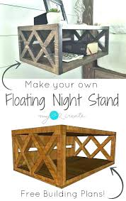 building table legs building table floating night stand building plans and a one board my love
