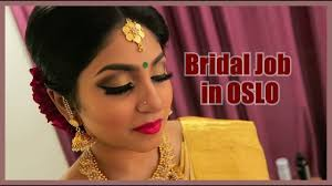 oslo again bridal job vithya hair and makeup artist