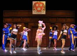 """stagescenela •elle s """"personal essay"""" to the harvard board of admissions in the movie a showy home video in the musical a splashy production number """"what you want"""""""