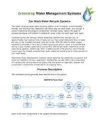 Car Wash Flow Chart Greendrop Car Wash Recycle Systems 2