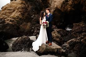Winter Wedding In Big Sur At Loma Vista Gardens And The Big Sur Bakery