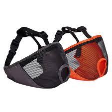 <b>Dog Muzzles Adjustable</b> Mesh Anti Bite <b>Pet Mouth</b> Mask Flat Face ...