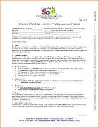 Standard Consignment Agreement Template Lobo Black It