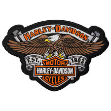 harley davidson eagle relic patch