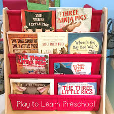 three little pigs books for preers