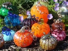 glass pumpkin patch