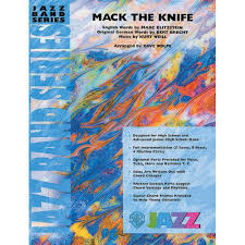 Dave Wolpe Charts Alfred Publishing Weill Kurt Mack The Knife Jazz Band