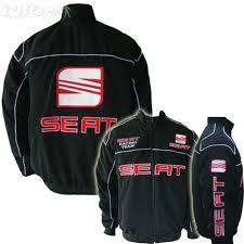racingjacket seat motorsport black