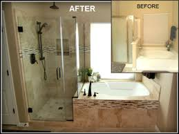Before And After Remodeled Small Bathrooms Smart Elimination Of - Remodeled master bathrooms