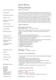 Nursing Resume Template - Hashdoc