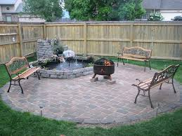 concrete patio with square fire pit. Small Patio Fire Pit 18 Brick Outdoor Build Table Diy Square Installing On Concrete A Backyard With P