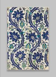 art tile designs. Tile Panel With Wavy-vine Design Art Designs N