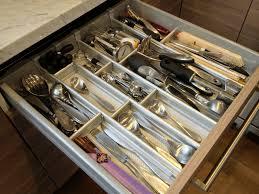 Cooking utensils, drawer organizer