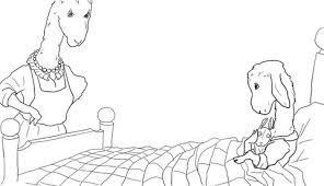 Small Picture Baby Llama What a Tizzy Sometimes Mamas Very Busy coloring page
