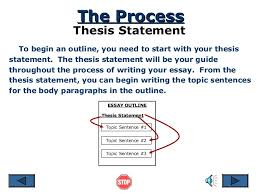 process essay thesis statement process essay thesis how to make a good impression on your first immigration essay introduction rogerian