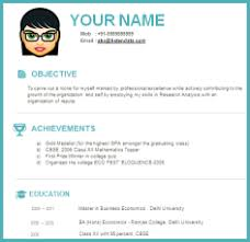 free modern resume templates interview resume sample