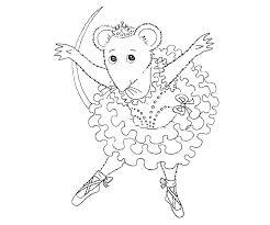 Ballerina Coloring Pages Sarcaceramics Co