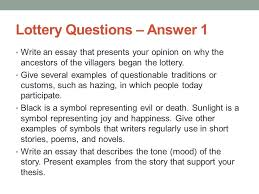 wednesday journal section ppt video online 14 lottery questions