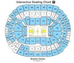 Concert Staples Center Seating Chart Staples Seating Capacity Detailed Seating Chart Staples
