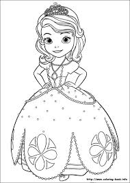 Sofia The First Coloring Picture Värityskirja Lapsille Disney
