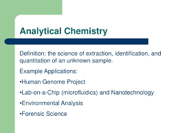 Ppt Analytical Chemistry Powerpoint Presentation Id 6795596