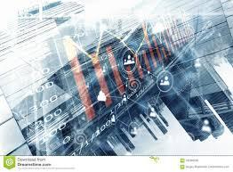 Modern Business Lifestyle Mixed Media Stock Illustration