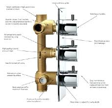 3 way shower diverter shower valve styles mixer thermostatic 3 way 3 handle shower diverter repair