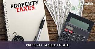State By State Property Tax Comparison Chart 2019s Property Taxes By State