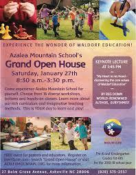 School Open House Flyers Free Insaat Mcpgroup Co