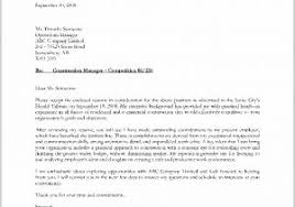 Samples Of Cover Letters For Resumes 61482 Examples Cover Letter For