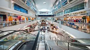 dubai airport they have free shower shoking mac cosmetics