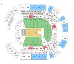 Bridgestone Seating Chart Bridgestone Arena Nashville Seating Chart Luxury Bridgestone
