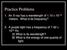 What Is The Energy Of One Quanta Of Light Arrangement Of Electrons In The Atom Ppt Download