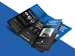 tri fold maker free online brochure maker template awesome tri fold brochure