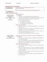 Av Tech Resume Resume Template
