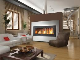 modern fireplace glass door for contemporary house design