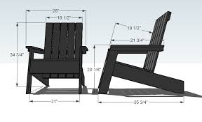 modern adirondack chair plans. Simple Adirondack Dimensions In Modern Adirondack Chair Plans A