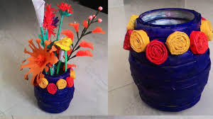 Chart Paper Flower Making Chart Paper Flower Vase Homeschoolingforfree Org