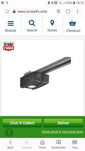 garador euro pro 700 garage door opener bn