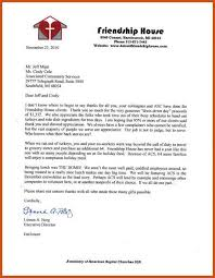 Community Service Letter | Sop Example