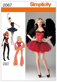 Simplicity Patterns Costumes Best Amazon Simplicity Sewing Pattern 48 Misses' Costumes Hh 48