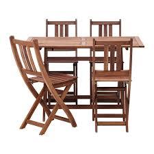 ikea patio furniture. IKEA: Bollo Table And 4 Chairs For $130, Additional Are 20 Dollars Ikea Patio Furniture