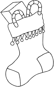 Coloring Page : Stocking Color Page Christmas Stockings Coloring ...
