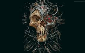 Free Scary Skull Wallpaper Downloads ...