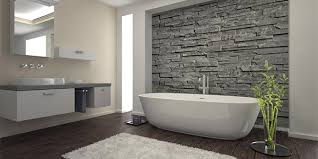 a newly refinished fiberglass tub